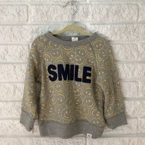 Baby Gap Smile Sweatshirt 18 Mo.